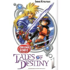 Acheter Tales of Destiny sur Amazon