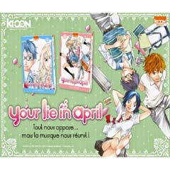 Acheter Your Lie in April sur Amazon