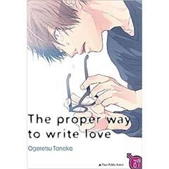Acheter The Proper way to write love sur Amazon