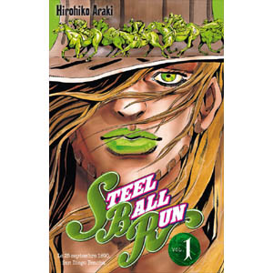 Acheter Jojo's bizarre adventure - Steel Ball Run sur Amazon