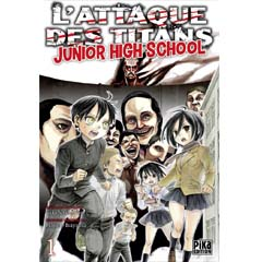 Acheter L'Attaque des titans – Junior High School sur Amazon