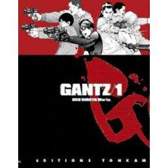 Acheter Gantz sur Amazon