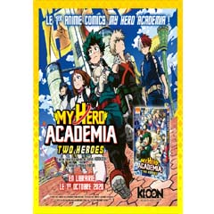 Acheter My Hero Academia Two Heroes – Animé Comics sur Amazon